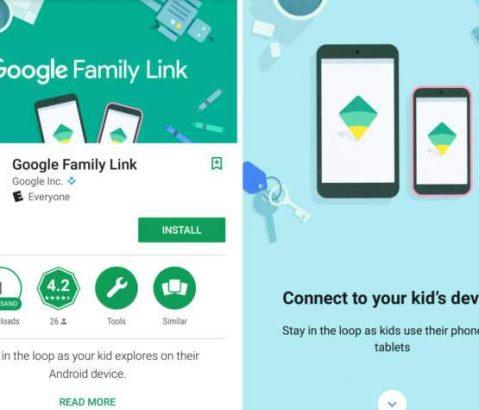 Google Family Link Çocukların Ailelerin G