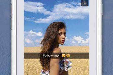 Snapchat yazı silme