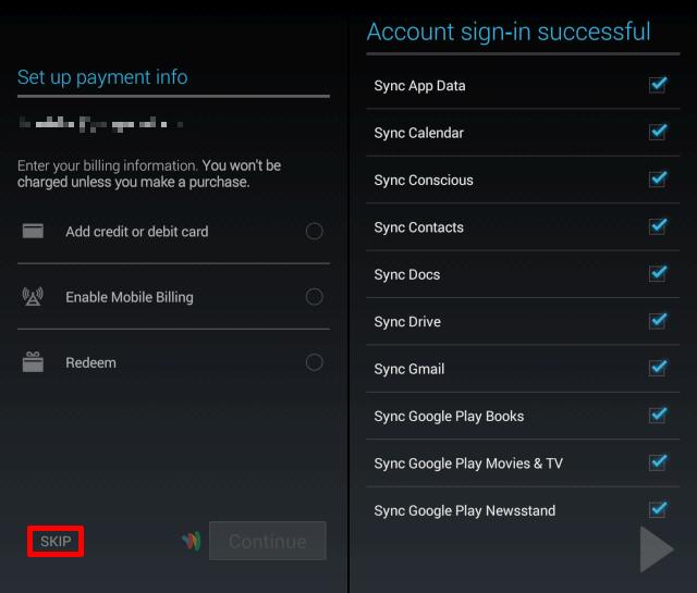 Google Play Hesap Değiştirme