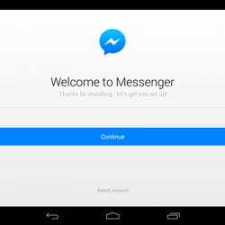 Messenger Hesap Silme