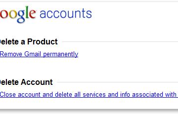 Google Hesap Silme Linki