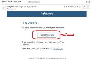 instagram e-posta öğrenme