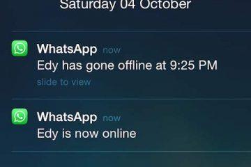 Whatsapp Çevrimiçi Olunca Haber Alma