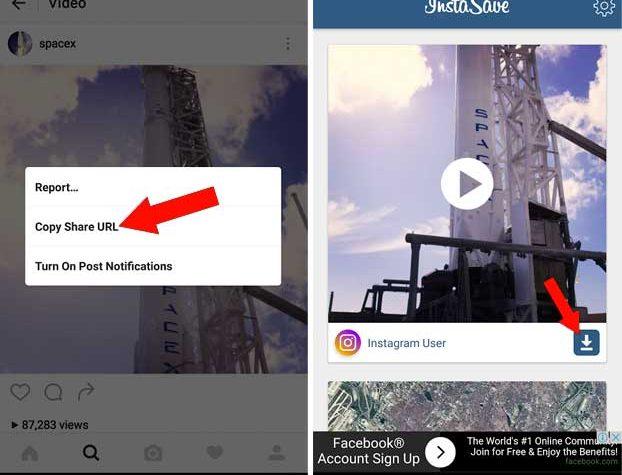 instagramdan video indirmek