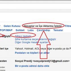 Google Hesap Şifre Değiştirme