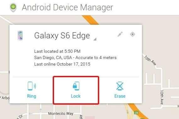 Telefon Şifremi Unuttum, Android Cihaz Yöneticisi ile Kilidi Atlama