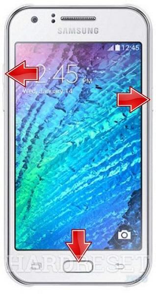 Samsung Telefon Sıfırlama