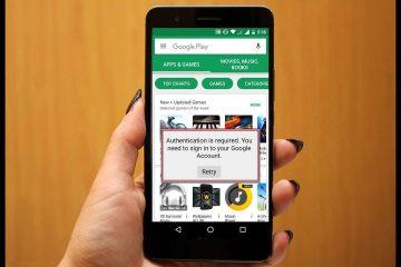 Google Play Kimlik Doğrulama, Kimlik Doğrulama Sorunu Çözümü