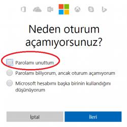 Outlook Şifremi Unuttum, Hızlıca Şifre Nasıl Yenilenir