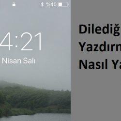 Türk Telekom isim Yazma , Operatör Yerine isim Yazma