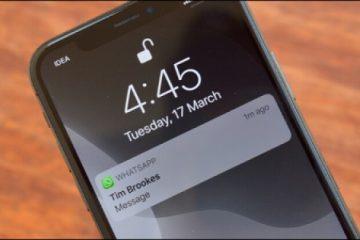 iPhone Bildirim İçeriği, Ekran Mesajı Gizleme